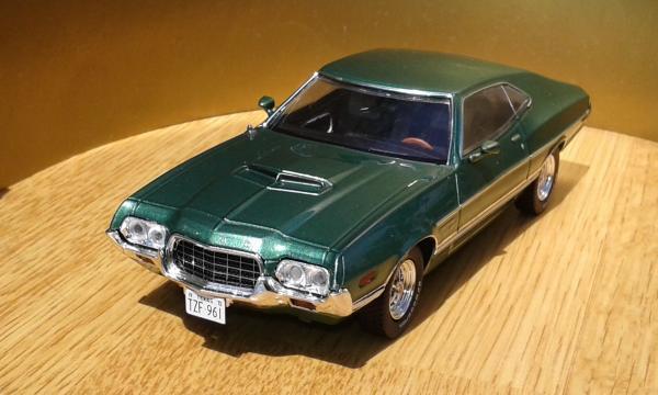 Ford Gran Torino (Premium X) [1972г., зеленый металлик, 1:43]