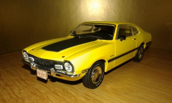 Ford Maverick (Premium X) [1975г., желтый, 1:43]