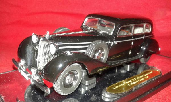Mercedes-Benz  770F Pullman Limousine (Signature) [1938г., черный, 1:43]