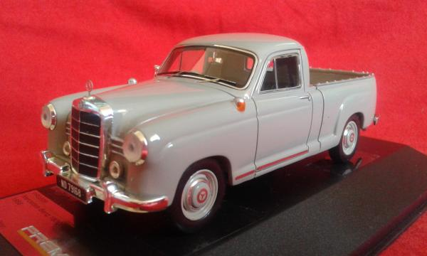 Mercedes-Benz 180D Bakkie (Premium X) [1956г., серый, 1:43]