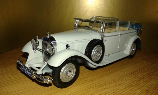 Mercedes-Benz 770F Cabriolet (Altaya/IXO) [1930г., серый, 1:43]