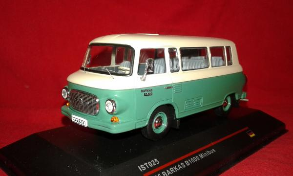 Barkas B 1000 Minibus (IST Models) [1965г., серый-зеленый, 1:43]
