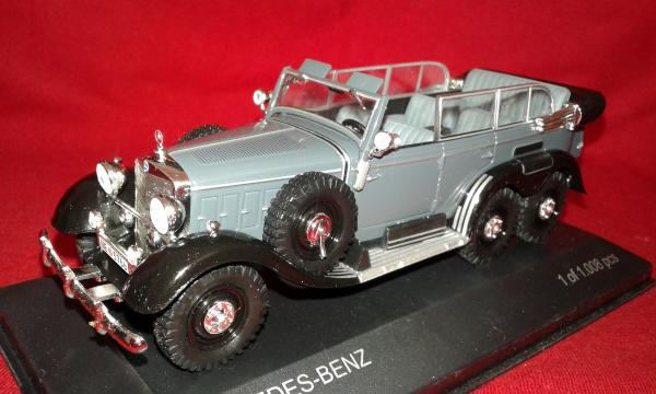 Mercedes-Benz G4 (WhiteBox) [1938г., серый, 1:43]