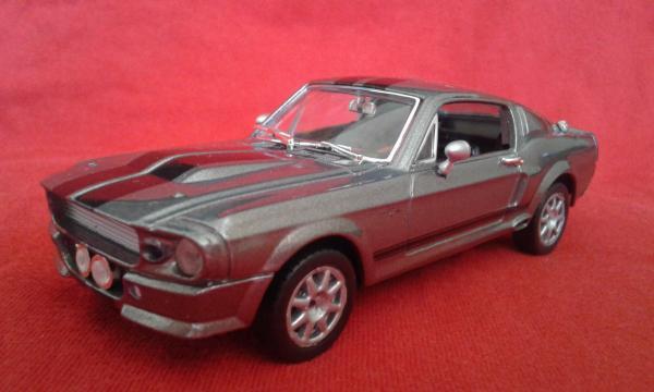 Ford Shelby GT (Greenlight) [1967г., серый металлик, 1:43]