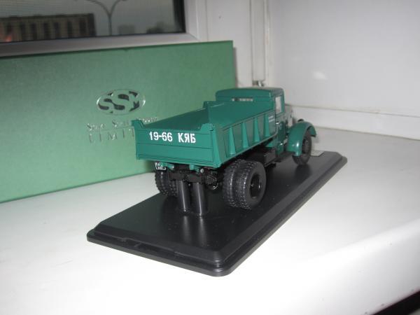 Маз 205 (Start Scale Models (SSM)) [1947г., Зеленый, 1:43]