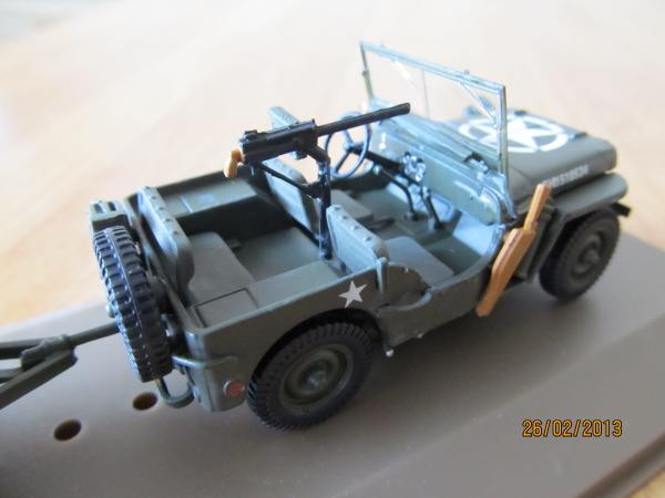 Jeep  Willys (Atlas/IXO) [1941г., Зеленый, 1:43]