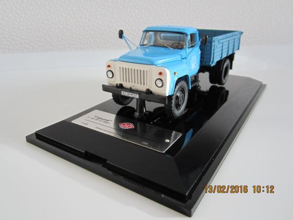ГАЗ-53-12 (DiP Models) [1985г., голубой, 1:43]