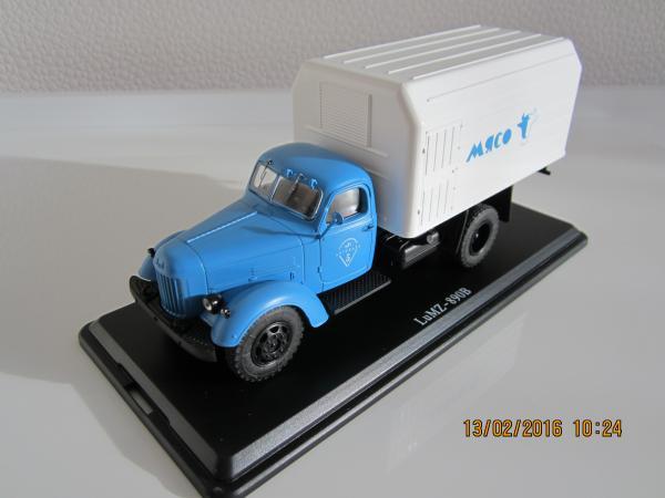 ЗИЛ-164 (Start Scale Models (SSM)) [1965г., голубой, 1:43]