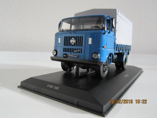 IFA-W 50 (VVM) [1970г., синий, 1:43]
