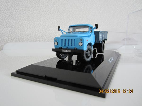 ГАЗ-52-04 (DiP Models) [1986г., голубой, 1:43]