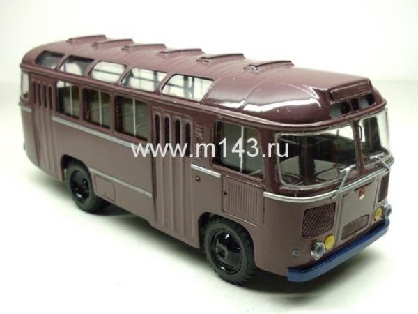 ПАЗ - 672 (ФиНоКо) [1970г., коричневый, 1:43]