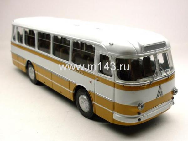 ЛАЗ-697М (ФиНоКо) [1974г., белый/горчичный, 1:43]