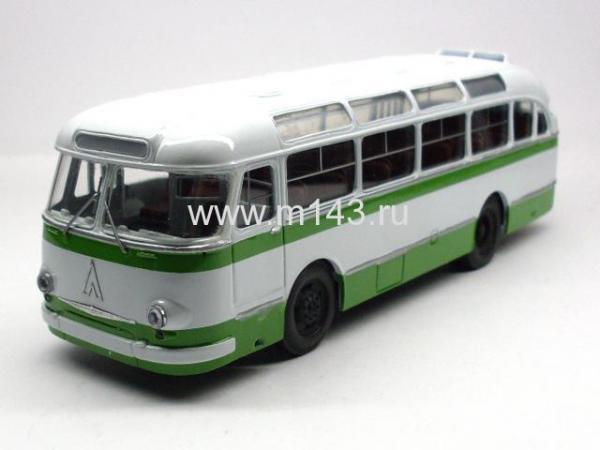 ЛАЗ 695 Е (ФиНоКо) [1961г., белый/зеленый, 1:43]