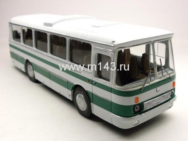 "ЛАЗ-697Р ""ТУРИСТ (ФиНоКо) [1978г., белый/зеленый, 1:43]"