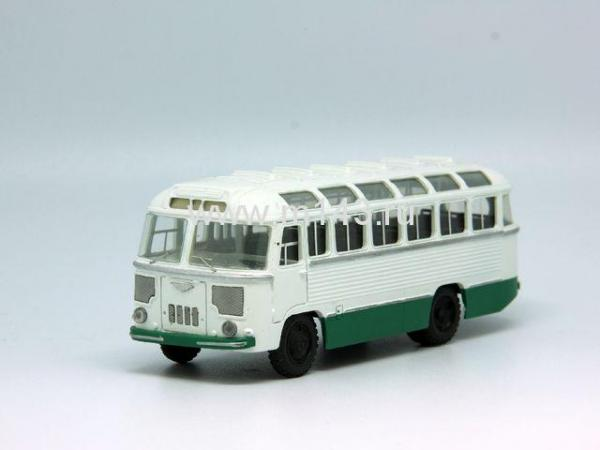 ПАЗ-652Б (ФиНоКо) [1963г., белый/зеленый, 1:43]