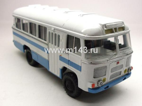ПАЗ-3201 (4х4) (ФиНоКо) [1982г., белый/синий, 1:43]