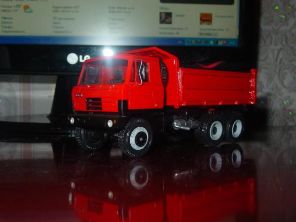 Tatra 815S3 (RO-models) [2011г., красный, 1:43]