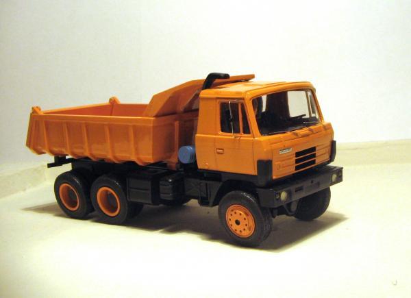 Tatra 815S1 (RO-models) [2011г., желтый, 1:43]