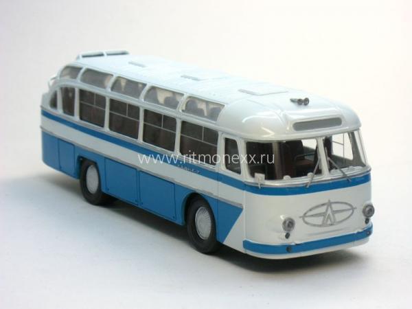 "ЛАЗ-697Е ""Турист (ФиНоКо) [1961г., синий/белый, 1:43]"
