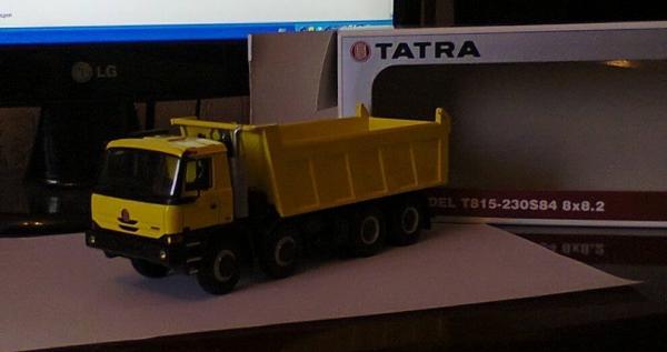 Tatra TerrnO1 (Kaden) [2007г., желтый, 1:43]