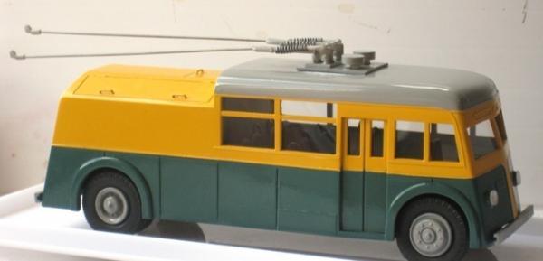 ЯТБ-4 техничка (St.-Petersburg Tram Collection) [1938г., серый/желтый/зелёный, 1:43]