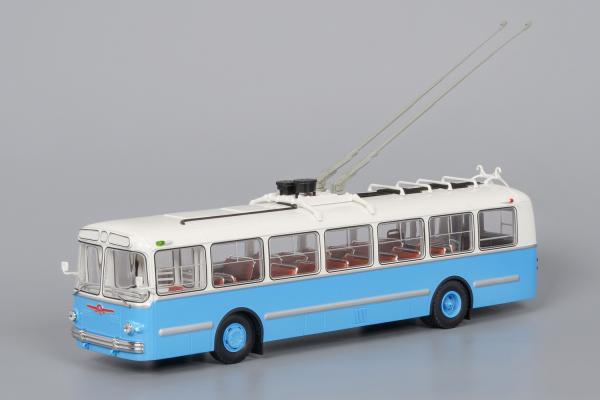 ЗиУ-5г (Classicbus) [1966г., белый/синий, 1:43]