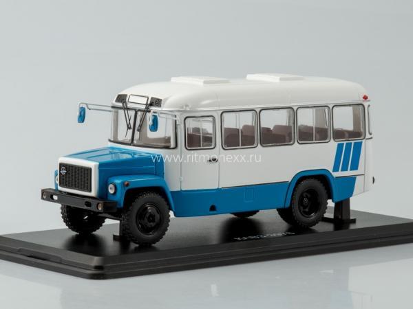 КАвЗ-3976 (Start Scale Models (SSM)) [1989г., белый.голубой, 1:43 и]