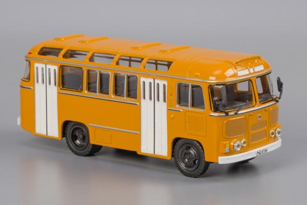 ПАЗ-672М (Classicbus) [1980г., Охра, белые двери, 1:43]
