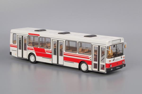 ЛиАЗ-5256 .00 (Classicbus) [1990г., Белый с красными полосами, 1:43]
