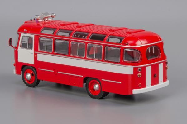 ПАЗ - 672 Fire (Classicbus) [1980г., Красный, белые полосы, 1:43]