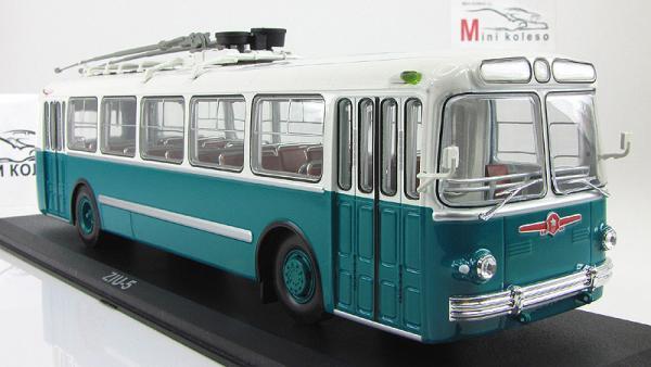 ЗИУ-5 (Classicbus) [1961г., верх белый/низ бирюзовый, 1:43]