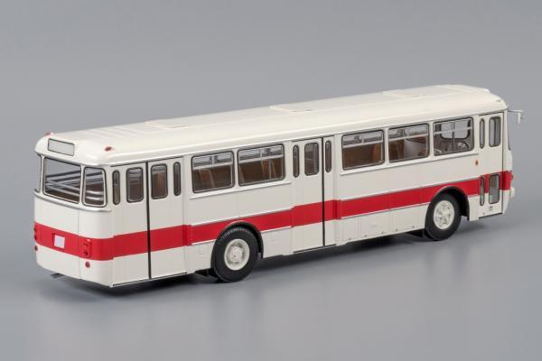 Икарус(Ikarus)-556 (Classicbus) [1971г., белый с бордовой полосой, 1:43]