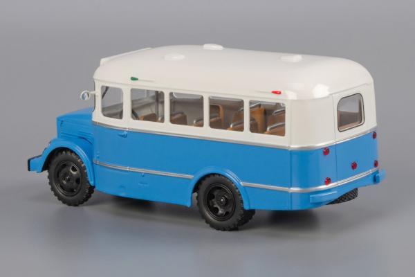 КАВЗ-651 (Classicbus) [1958г., серый верх, светло-голубой низ, 1:43]