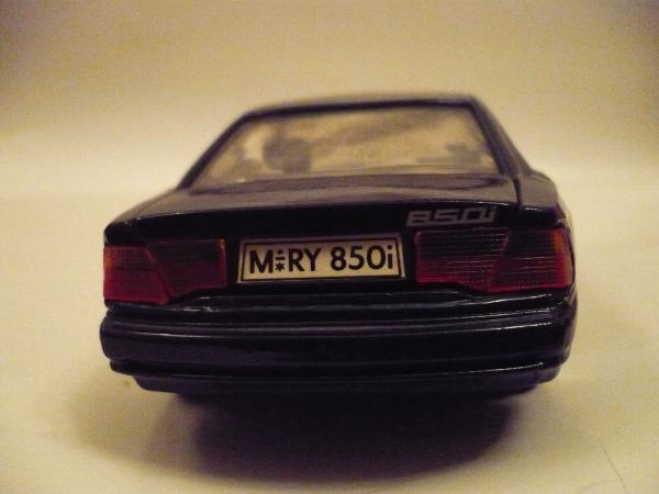 BMW 850i (SO (КНР)) [1989г., тёмно-зелёный металлик, 1:24]