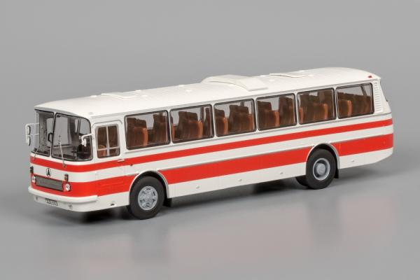 "ЛАЗ-699Р ""Турист-2 (Classicbus) [1978г., белый/красный, 1:43]"