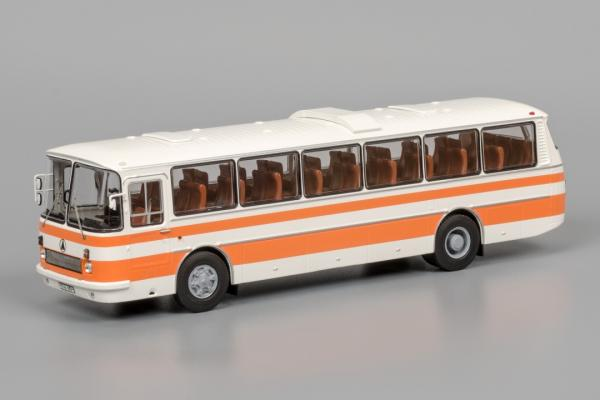 "ЛАЗ-699Р ""Турист-2 (Classicbus) [1978г., белый/оранжевый, 1:43]"