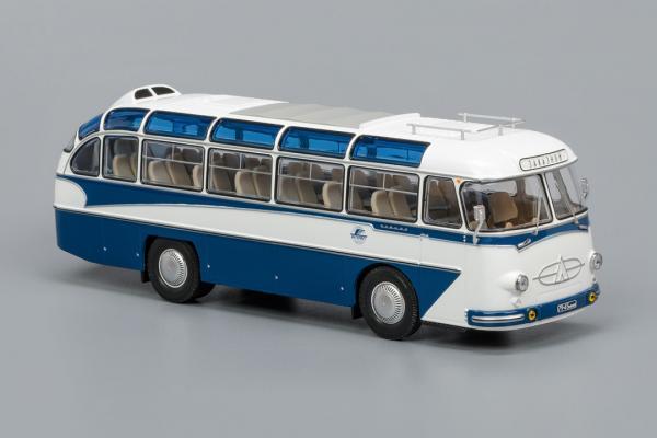 ЛАЗ-697Е Турист (Classicbus) [1961г., Бело/синий, 1:43]