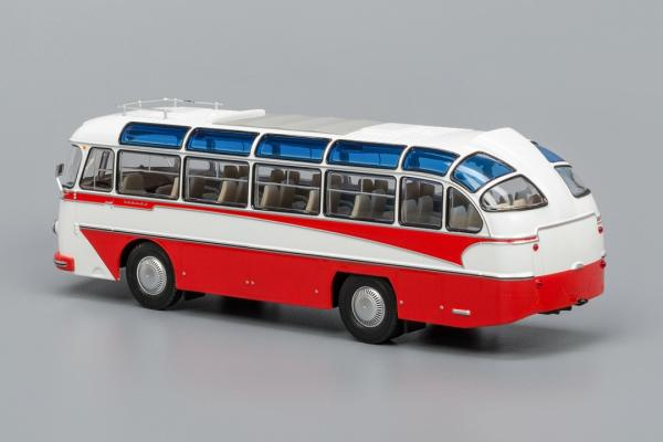 ЛАЗ-697Е Турист (Classicbus) [1961г., белый/красный, 1:43]