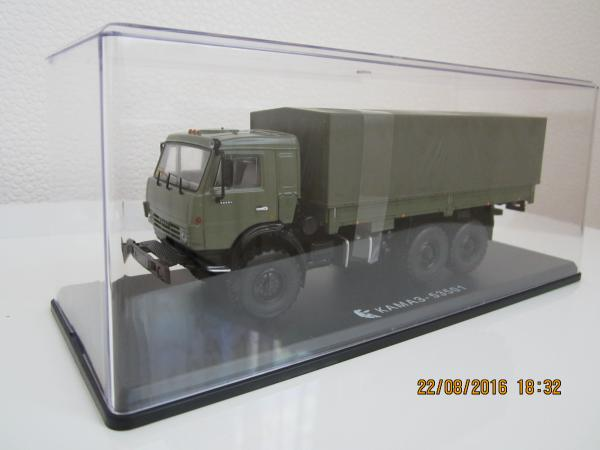 КАМАЗ-53501 (Start Scale Models (SSM)) [2003г., хаки, 1:43]