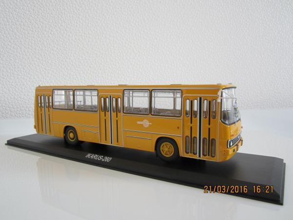 ИКАРУС-260 (Classicbus) [1972г., желтый, 1:43]