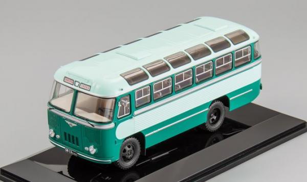 ПАЗ-652 (DiP Models) [1960г., светло зелёный/зелёный, 1:43]