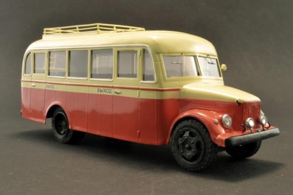 ТА-1 пригородный (Vector-Models) [1951г., желтый/красный, 1:43]