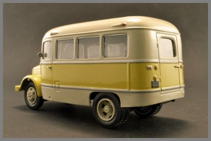 ТА-3 (Vector-Models) [1955г., белый/жёлтый, 1:43]