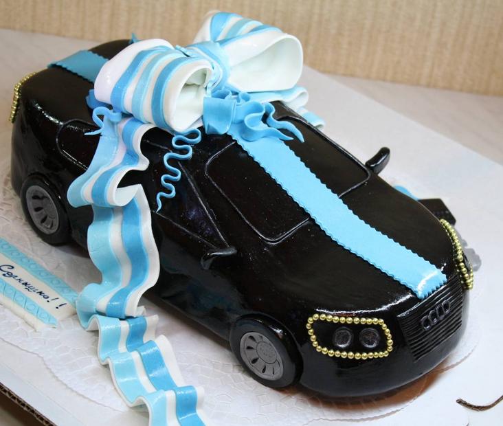 торти у виглядо машини фото