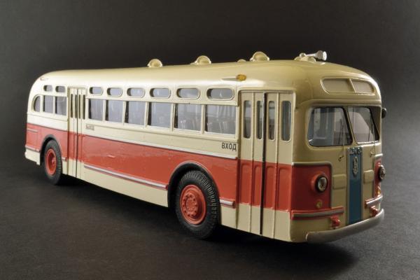 ЗИС-154 (Vector-Models) [1946г., белый/красный, 1:43]