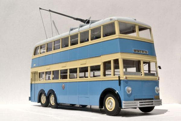 ЯТБ-3 (St.-Petersburg Tram Collection) [1938г., белый/синий/бежевый, 1:43]
