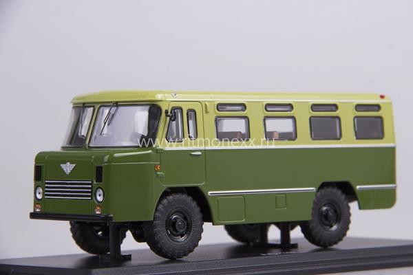 АС-38 (Start Scale Models (SSM)) [1967г., зеленый/салатовый, 1:43]