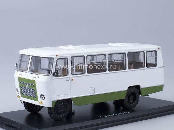 Кубань Г1А1-02 (Start Scale Models (SSM)) [1989г., белый/зеленый, 1:43]