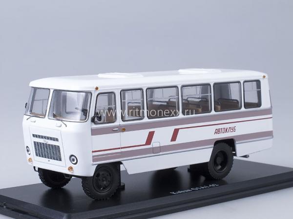 Кубань-Г1А1-02 Автоклуб (Start Scale Models (SSM)) [1989г., белый/бордовый, 1:43]