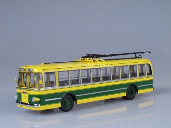 ТБУ 1 (ULTRA Models) [1955г., желтый/зеленый, 1:43]